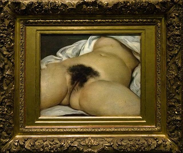 EL origen den mundo, Gustave Courbet