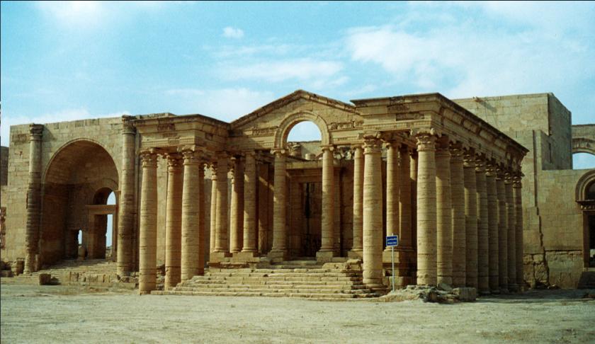 Ciudad de Hatra en Iraq