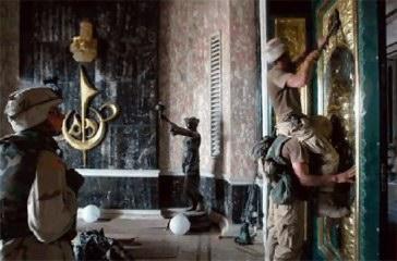 tropas americanas saqueando