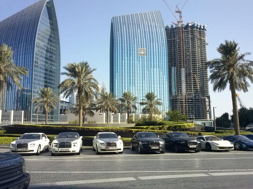 Coches en Dubai