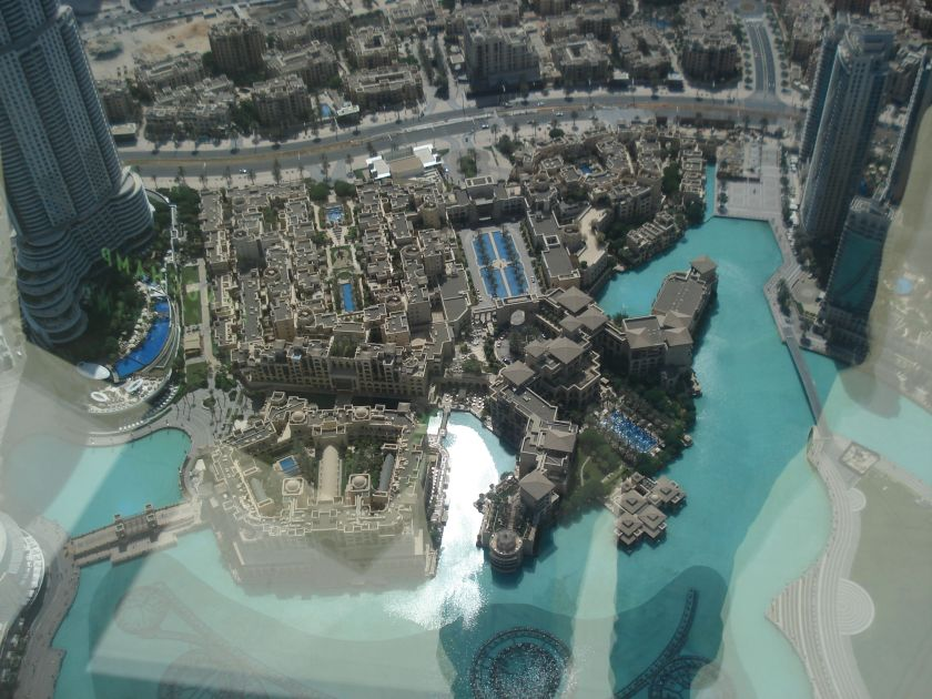 Vista desde Burj Khalifa