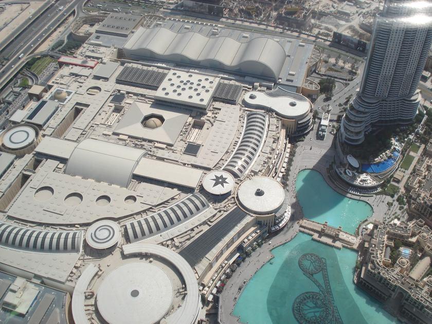 Dubai Mall desde arriba