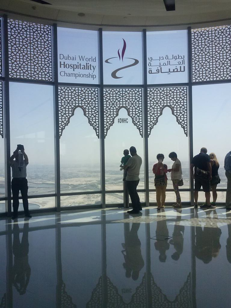 Dubai at the top