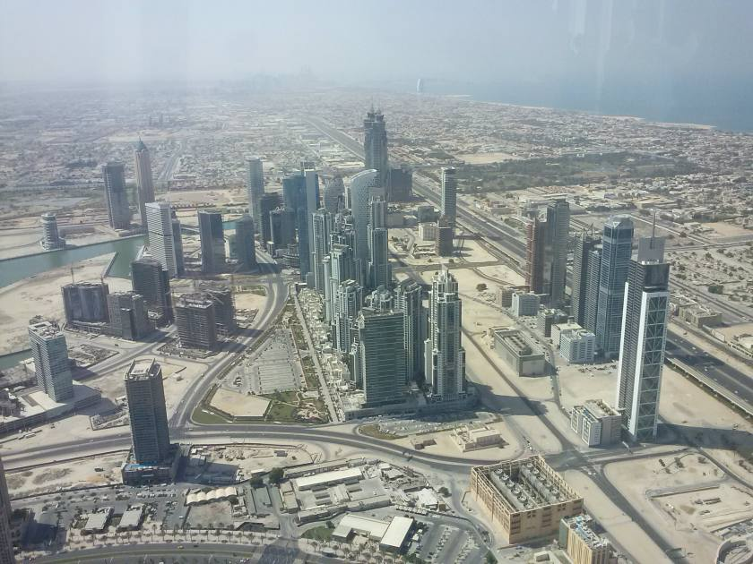 Vistas desde Burj Khalifa